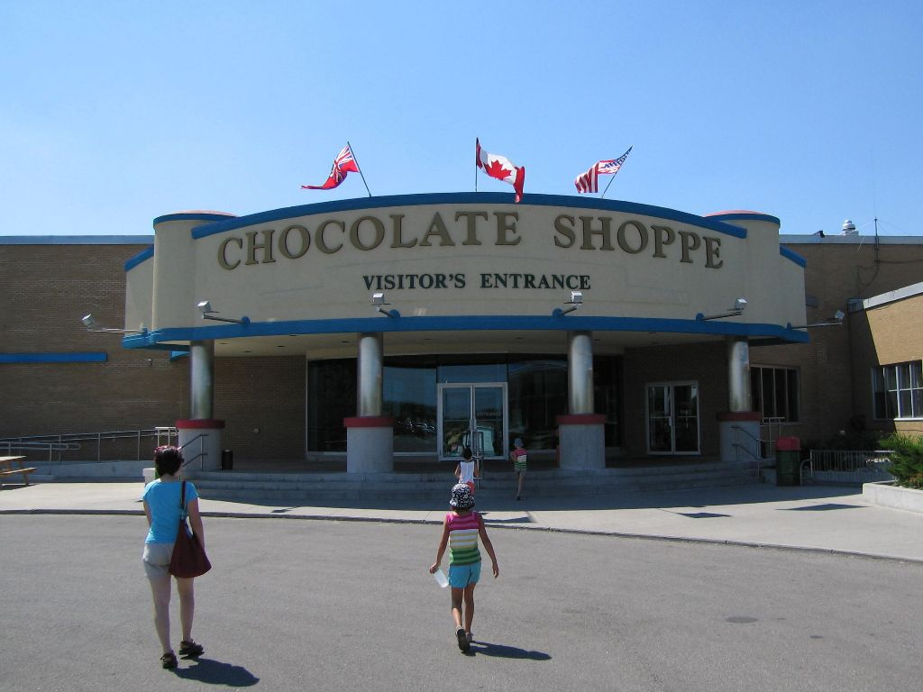 Hershey Chocolate Factory in Smith Falls