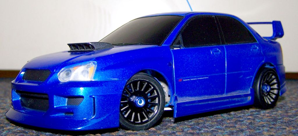 on 2004 subaru wrx sti wagon