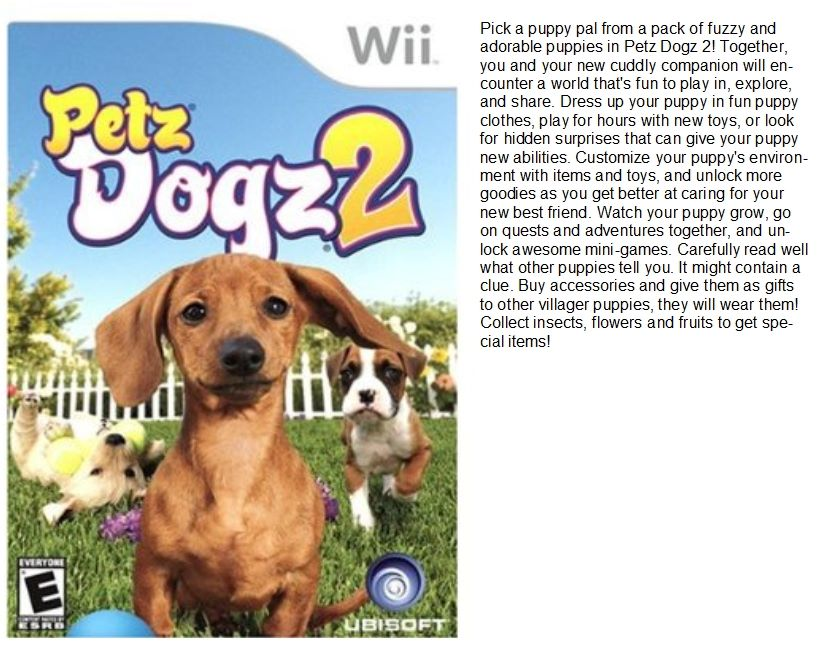 Wii Game Ratings List